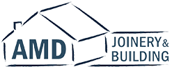 AMD Joinery & Building Logo
